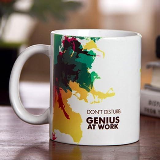 Hot Muggs DND Genius at Work Ceramic Mug, 350ml