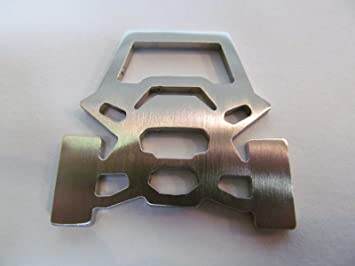 B2 Fabrication Stainless Steel Polaris RZR Silhouette Key Chain