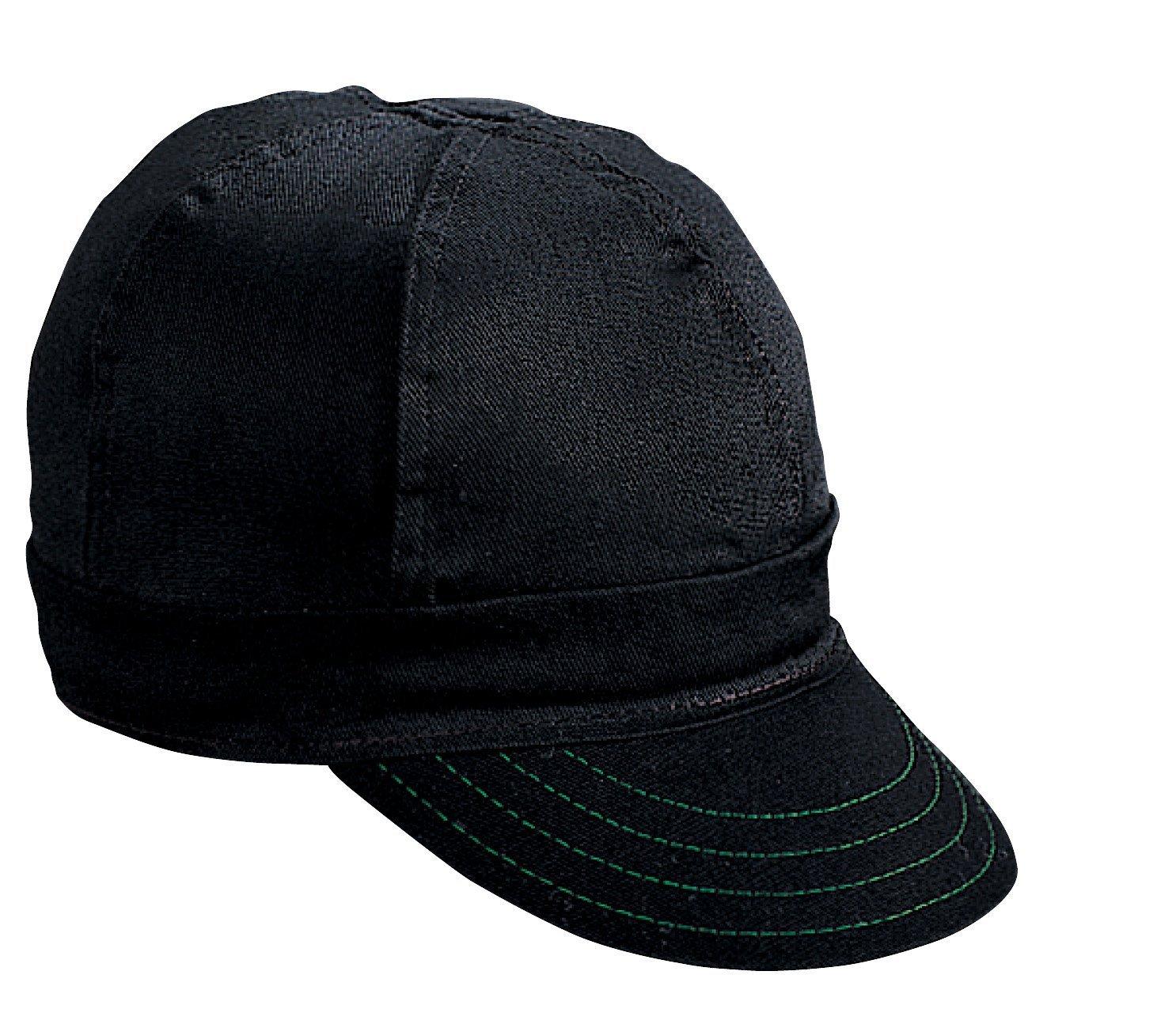 Kromer Cap Hard Brim Black (7 3/8) Mutual Industries