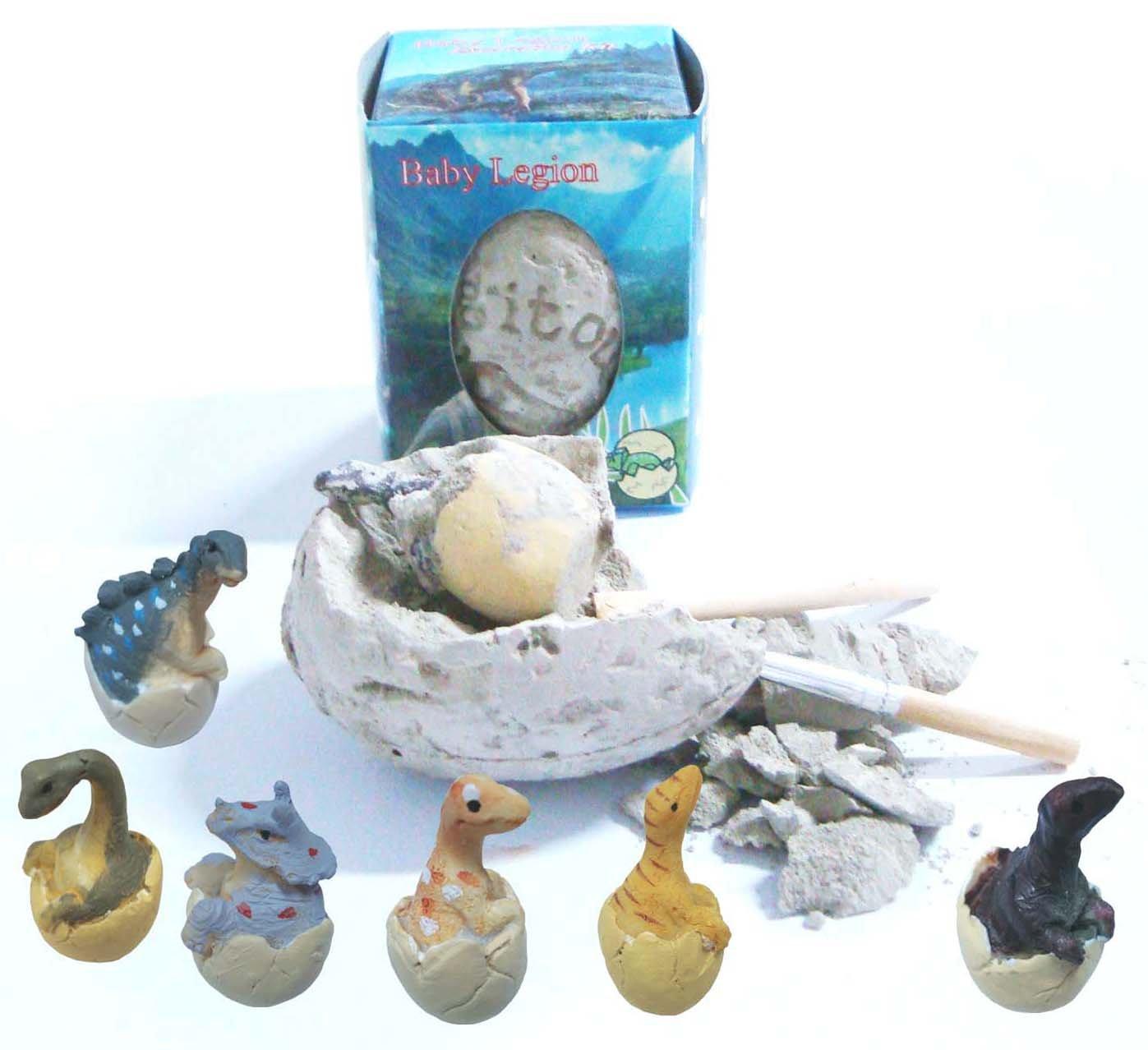 24 Pack Eggs Baby Legion Dinosaur Excavation Kit