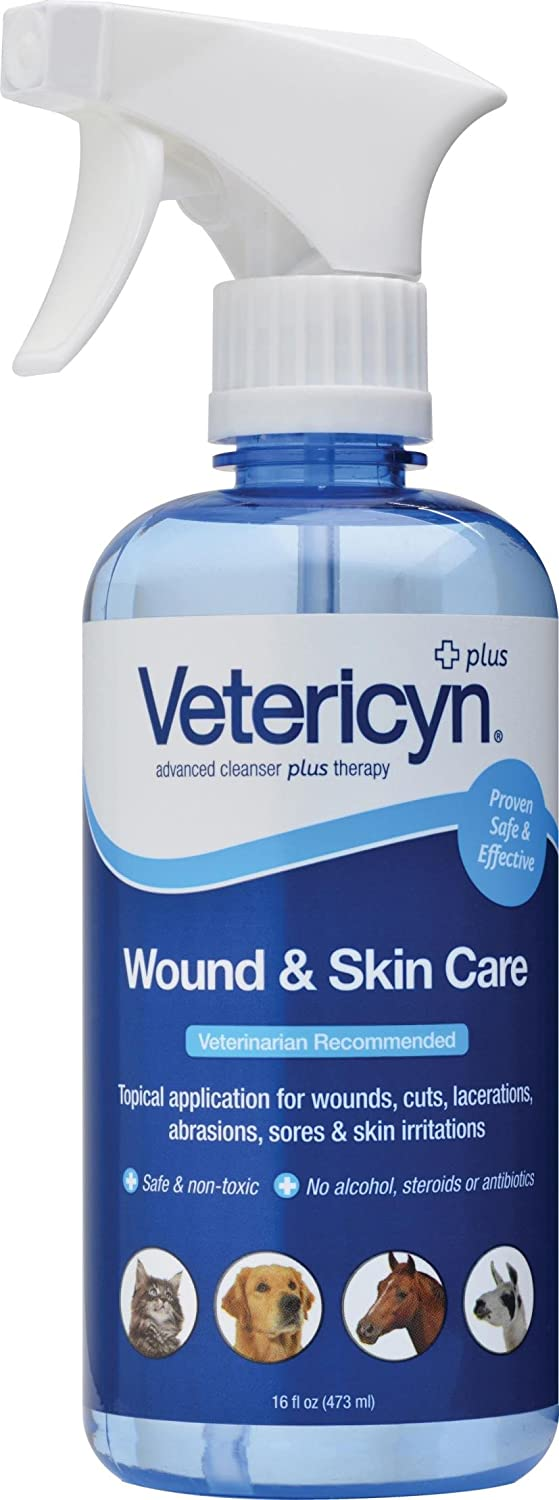DPD VETERICYN All Animal Wound & Skin Care 16 OZ