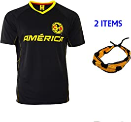 d005170b0b3 Club America Soccer Jersey Mexico FMF Adult Training Aguilas del America