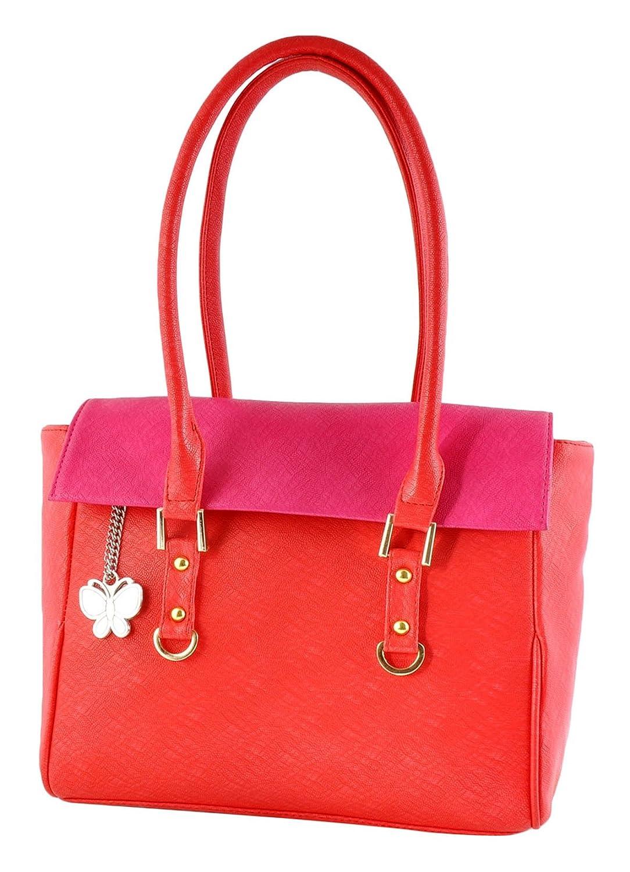 Butterflies Handbag Faux Leather Designer Ladies Purse Casual Shoulder Bag
