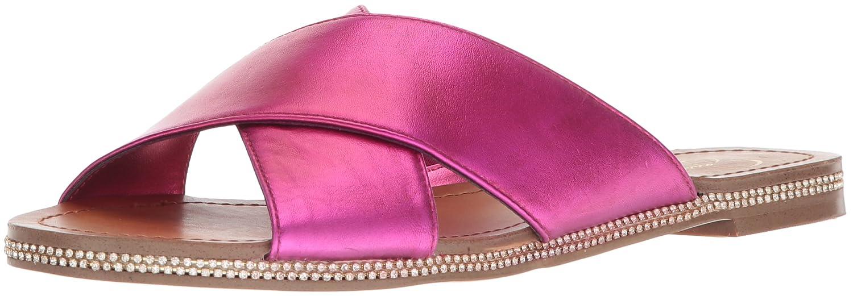 Jessica Simpson Women's Brinella Flat Sandal B078HZKKMC 10 B(M) US|Lux Magenta