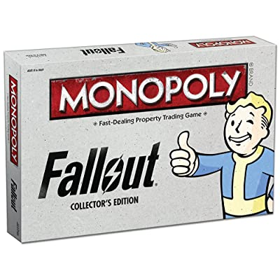 USAOPOLY Monopoly: Fallout Collector's Edition Board Game: Toys & Games