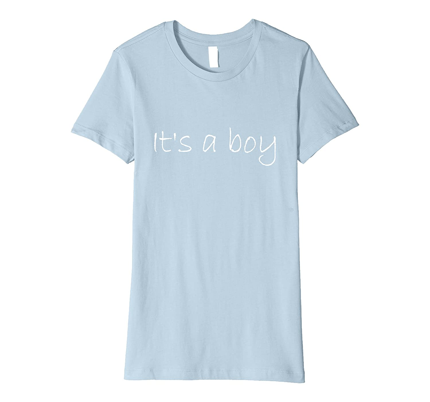 It's A Boy Blue Boy Baby Shower Adoption Gender Reveal Shirt