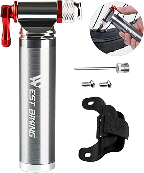 XREXS Mini inflador de CO2 para Bicicleta, portátil, 100% de Metal ...