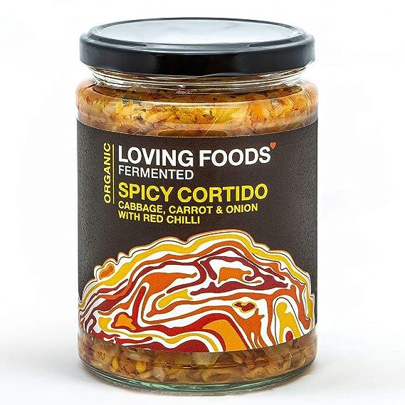 Loving Foods Orgánico Picante Cortido Kraut (500g) CRUDO ...