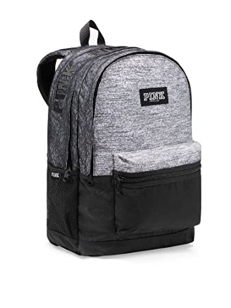 f343be6dcbdc7 Victoria's Secret PINK Women's Campus Backpack Marl Gray