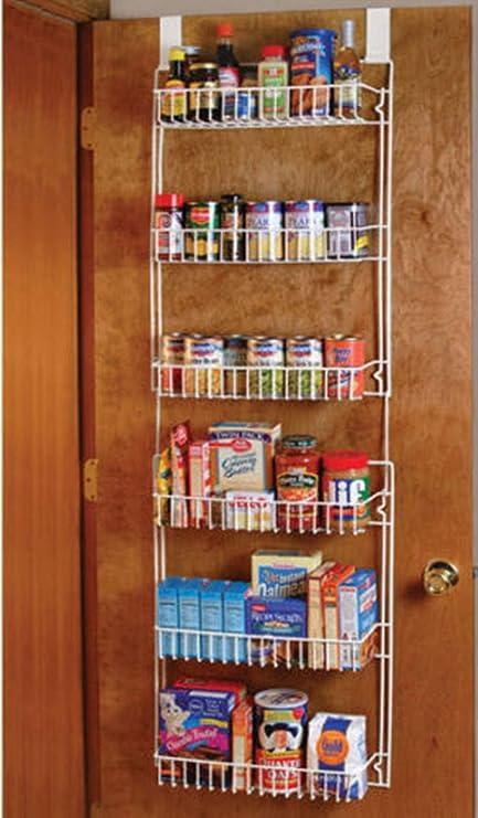 Image Unavailable Amazon.com: Good concept Over the Door Storage Shelf Kitchen Pantry