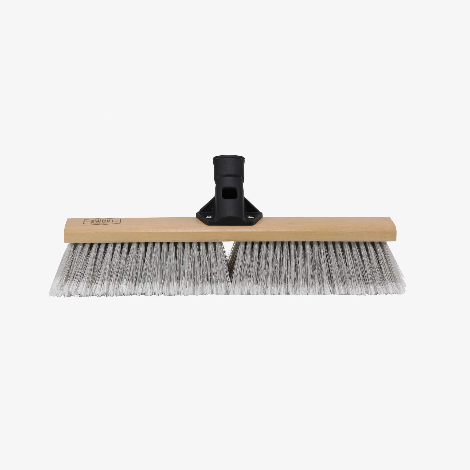 Swopt 5115C4 SWOPT 18 Premium Smooth Surface Push Broom Head, Push Broom for Indoor Use, Picking up Finer Particles