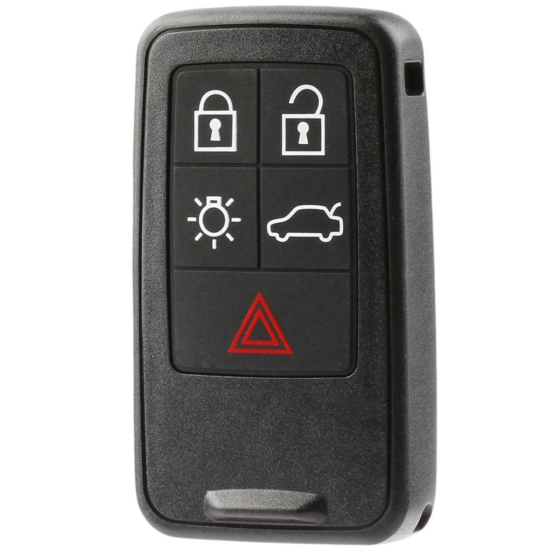 Car Key Fob Keyless Entry Smart Remote fits Volvo S60 S80 V60 V70 XC60 XC70 (KR55WK49264), Set of 2 USARemote