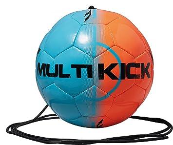 Derbystar balón de fútbol con Cuerda para Mini, Azul/Naranja, 4 ...