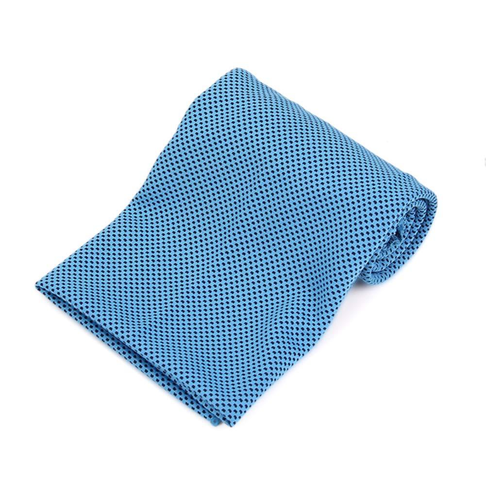 /Instant raffreddamento asciugamano in microfibra ad asciugatura rapida tessuto Ice asciugamano sport e fitness/ Bearcolo fitness palestra yoga Chill asciugamani per allenamento colore grigio chiaro