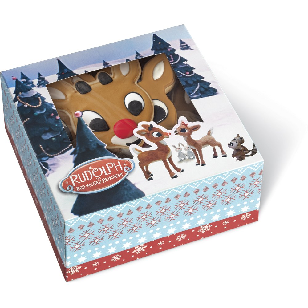 Wilton Rudolph the Red-Nosed Reindeer Cupcake Boxes, 3-Count