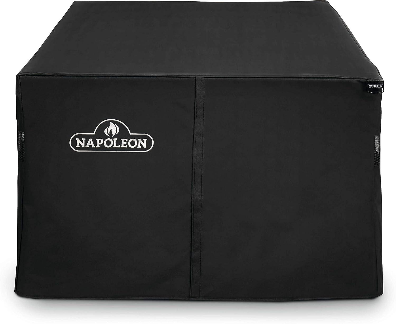 Amazon Com Napoleon 61851 Rectangle St Tropez Muskoka And Kensington Patio Table Cover Black Garden Outdoor
