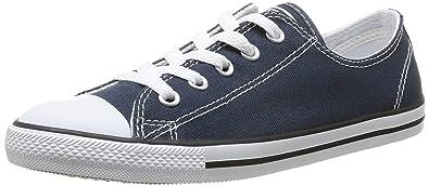 Converse As Dainty Ox, Sneakers Basses femme, Bleu (Marine