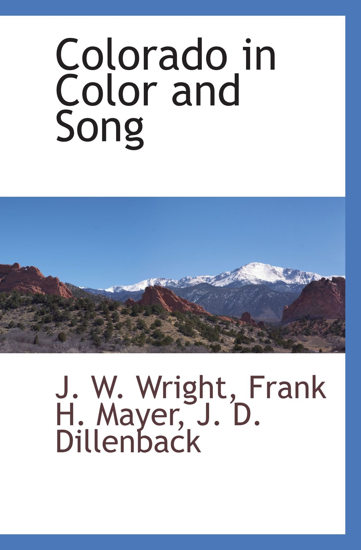 Download Colorado in Color and Song pdf