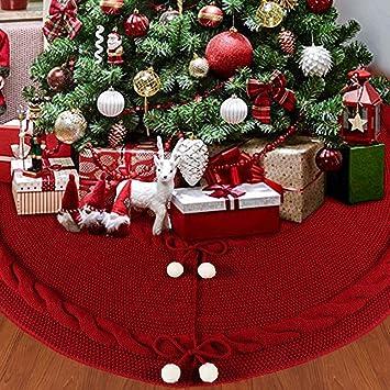 URBNLIVING Falda Elegante para /árbol de Navidad