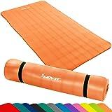 MOVIT® - Tapis de sol pour pilates et fitness - sans phthalate - certifié SGS - 12 différentes couleurs - L 190 x I 100cm x E 1,5 cm ou L 190x I 60cm x E1,5 cm