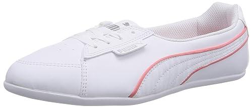 Puma Myndy Ballerinas Schuhe Sneaker Damen Weiß Schwarz
