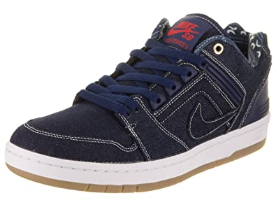 638af47c520e NIKE Men s SB Air Force II Low QS Binary Blue Binary Blue White Skate