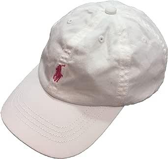 Polo Ralph Lauren - Gorra Blanca/Rosa: Amazon.es: Ropa y accesorios