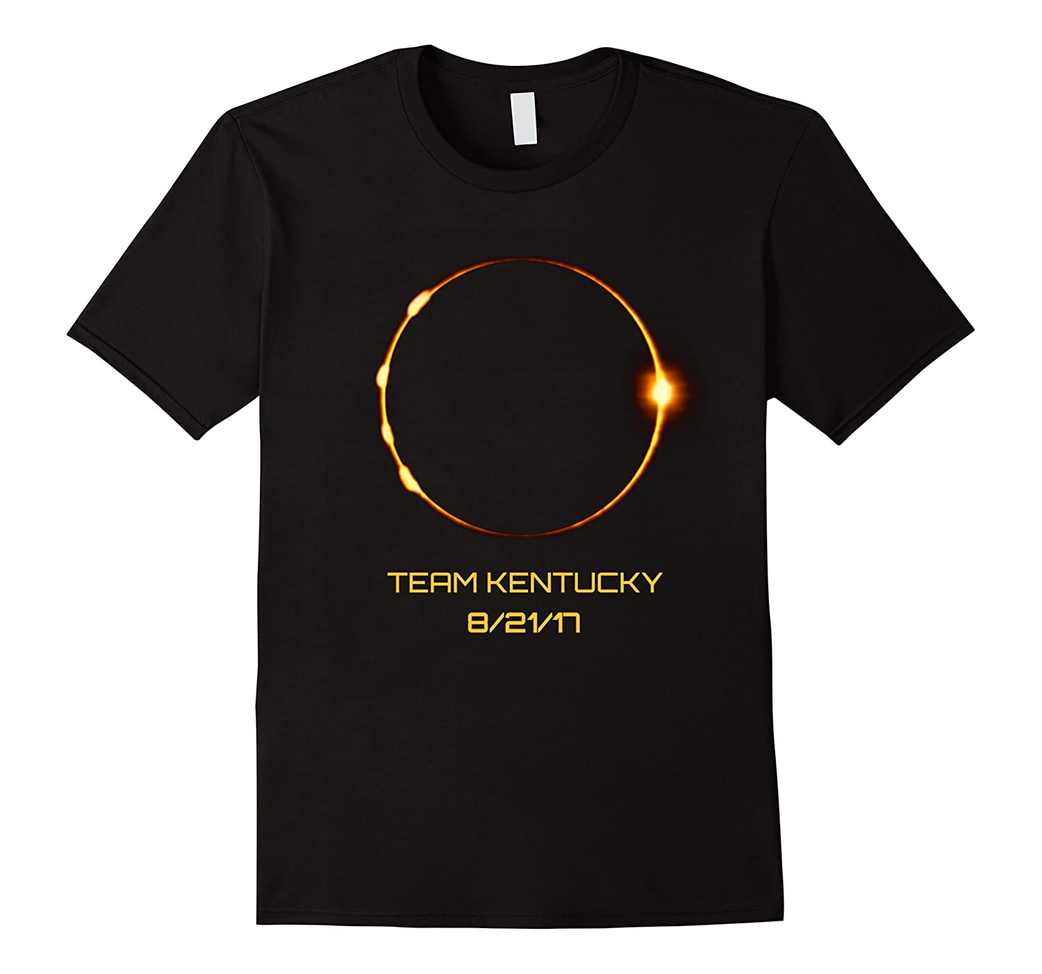 Solar Eclipse Team Kentucky TShirt for 21 August 2017