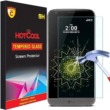 LG G5 Protector De Pantalla, HOTCOOL [9H Dureza & 3D Tacto ...