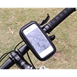 Waterproof Cycling Bicycle Bike Handlebar Touch Screen Mobile Phone Bag Case Pouch Rotating Holder