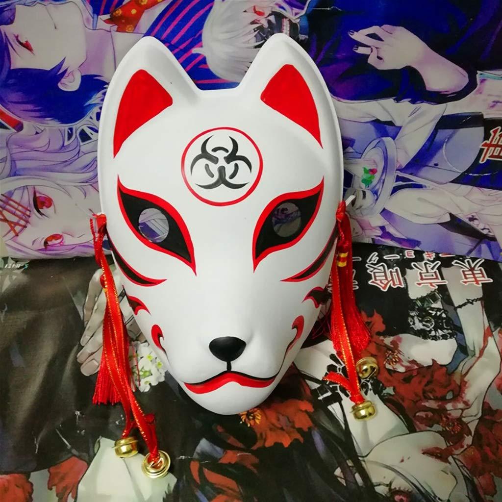 Mascarade Handgemalte Maske, COS-Fuchsmaske, Bühnenperformance-Anime, PVC-Umgebungsmaske (Farbe   C) B07PTYD4NZ Masken für Erwachsene Einfach zu bedienen | Haltbarkeit