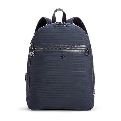 Kipling - Bolso mochila de Lona para mujer Serious Blue 32x42x16: Amazon.es: Zapatos y complementos