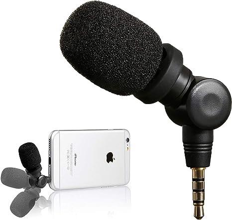 Saramonic SmartMic - Micrófono de Condensador Flexible para ...