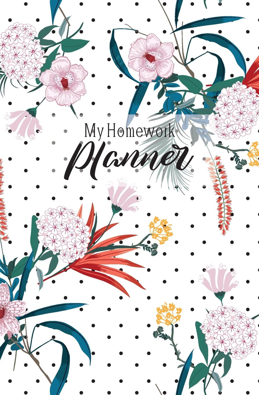 My Homework Planner: Assignment Notebook, Weekly To Do List