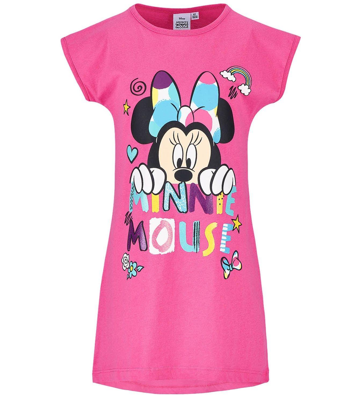 Disney Minnie Mädchen Nachthemd - pink