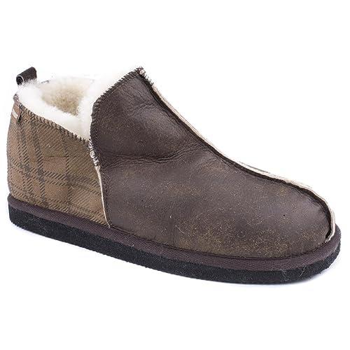 finest selection e6d6f 68385 Shepherd, Pantofole Uomo Marrone Brown, Marrone (Brown), 45 ...