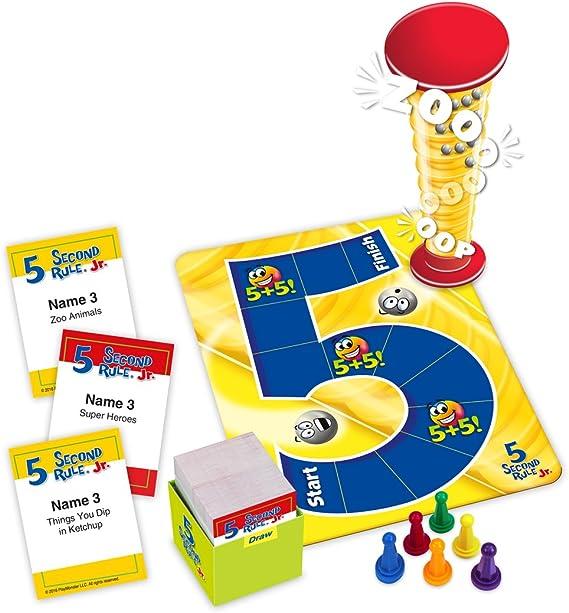 University Games - Juego para niños (5 Segundos): Amazon.es: Juguetes y juegos