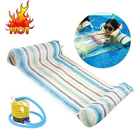 Tumbona hinchable flotante cama grande colchoneta flotante ...