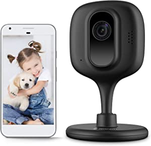 Zencam 1080p WiFi Camera, Indoor Security Wireless IP Camera, Two-Way Talk, Night Vision for Home, Office, Baby, Pet Cam with MicroSD & Cloud Storage, Black Updated Firmware 2020 Version (E2B)