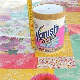 Vanish Gold Oxi Action, Quitamanchas Polvo, Blanco - 940 gr ...