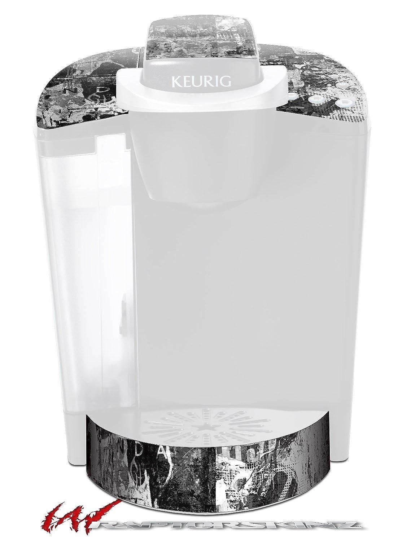 グラフィティGrungeスカル – デカールスタイルビニールスキンFits Keurig k40 Eliteコーヒーメーカー( Keurig Not Included )   B017AK75U0