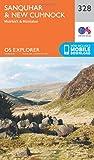 Ordnance Survey Explorer 328 Sanquhar & New Cumnock Map With Digital Version