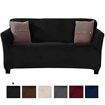 Superb Original Velvet Plush Stretch Sofa Slipcover Strapless Sofa Cover Furniture Protector For Couch Soft Anti Slip High Stretch For 3 Seat Sofa Unemploymentrelief Wooden Chair Designs For Living Room Unemploymentrelieforg