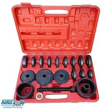 Kit de herramientas de instalación para extracción de rodamientos de ruedas, tracción delantera, 23