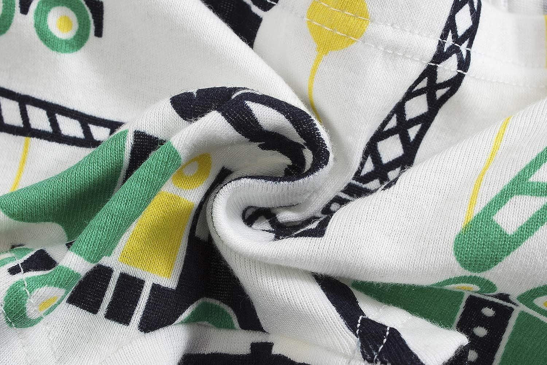 Winging Day Little Boys Cotton Brief Soft Underwear Multipack