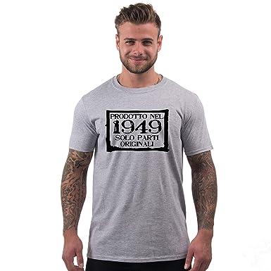 Bang Tidy Clothing T Shirt Da Uomo Da 70esimo Compleanno Prodotto Nel 1949 Maglietta Idea Regalo Per I 70 Anni