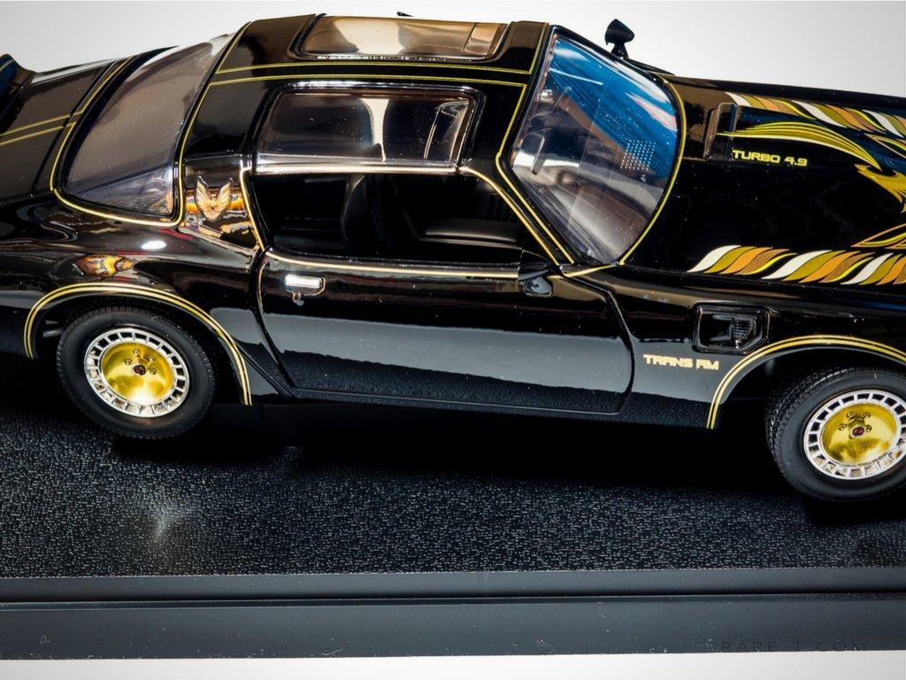 Exclusivo Elite Edition Smokey & The Bandit - 1980 Pontiac Trans Am fundido COCHE pantalla Set: Amazon.es: Hogar