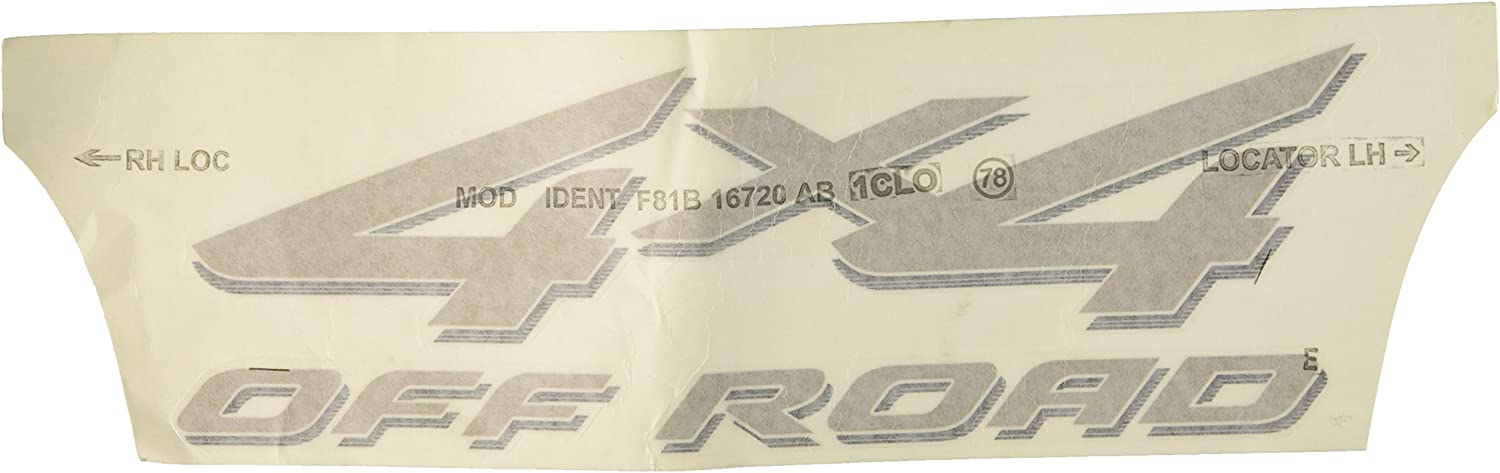 Genuine Ford 5C3Z-9925622-AAC Name Plate Decal