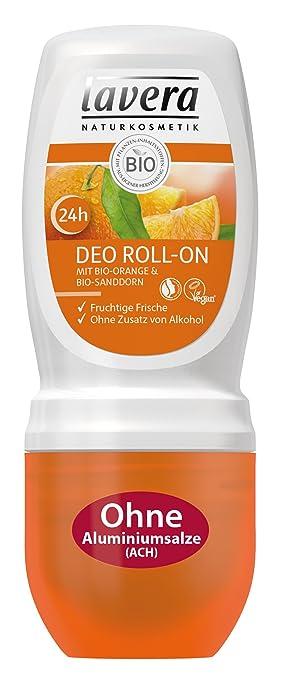 lavera Deo Roll On 24h Bio Orange ∙ Deodorant ohne Aluminium ...