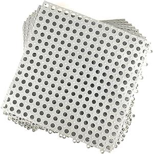 Foghorn Construction Gray Rubber Shower Floor Tiles